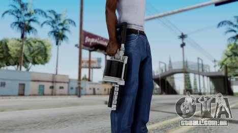 GTA 5 Grenade Launcher para GTA San Andreas terceira tela