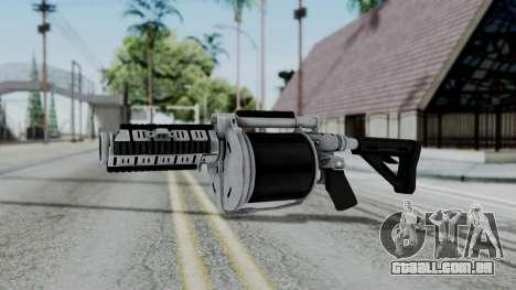 GTA 5 Grenade Launcher para GTA San Andreas