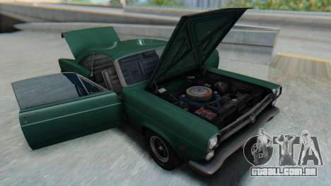 Ford Fairlane 500 1967 v1.1 para GTA San Andreas vista interior