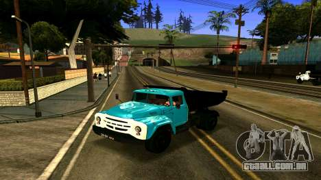 ZIL 130 para GTA San Andreas esquerda vista