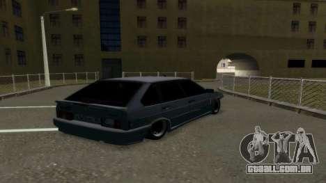 VAZ 2114 Brodyaga para GTA San Andreas traseira esquerda vista