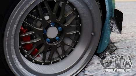Nissan GT-R R35 Rocket Bunny v2 para GTA San Andreas vista traseira