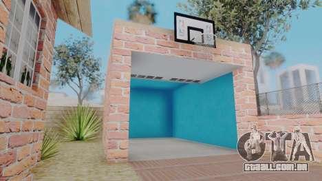 New Big Smoke House para GTA San Andreas por diante tela