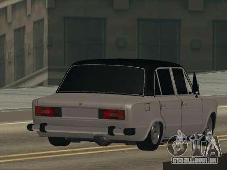 VAZ 2106 BUNKER para GTA San Andreas esquerda vista