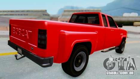 GTA 5 Vapid Bobcat XL para GTA San Andreas esquerda vista