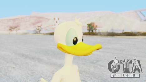 Kingdom Hearts 1 Donald Duck No Clothes para GTA San Andreas