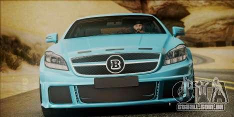 Mercedes-Benz CLS 63 BRABUS para GTA San Andreas vista direita