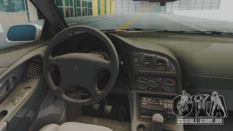 Mitsubishi Eclipse GST Nepgear Itasha para GTA San Andreas vista traseira