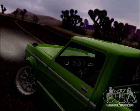 Sadler Debbie para GTA San Andreas vista inferior