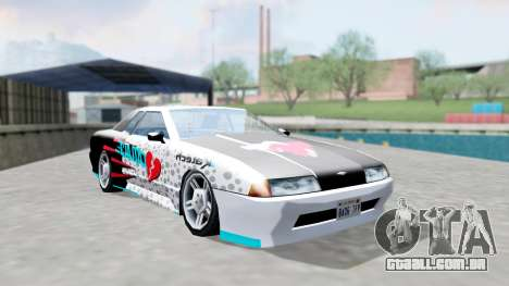 Elegy 4 Drift Drivers V2.0 para GTA San Andreas