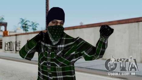 New Fam2 para GTA San Andreas