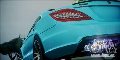 Mercedes-Benz CLS 63 BRABUS para GTA San Andreas vista interior