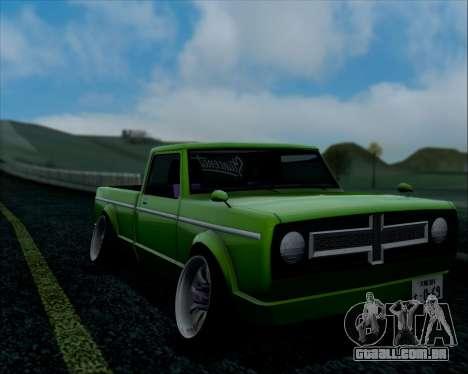 Sadler Debbie para GTA San Andreas vista traseira