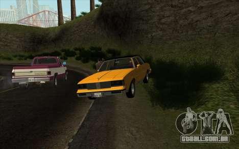 Situação de vida 4.0 para GTA San Andreas segunda tela