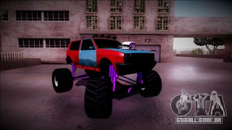 Club Monster Truck para GTA San Andreas vista superior