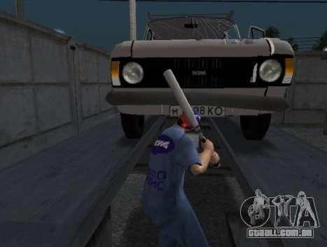 A pele do trabalhador IZH Reparação de automóvei para GTA San Andreas terceira tela