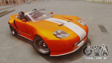 GTA 5 Bravado Banshee 900R para GTA San Andreas