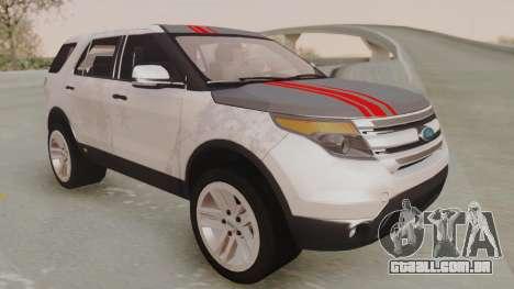 Ford Explorer para vista lateral GTA San Andreas