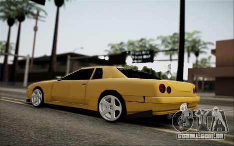Elegy Speedhunters para GTA San Andreas vista traseira