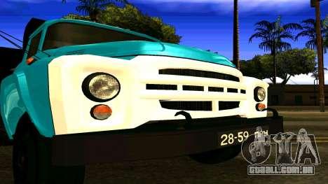 ZIL 130 para GTA San Andreas vista direita