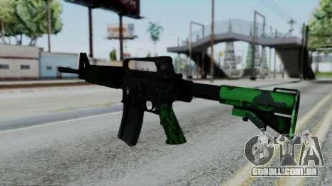 M16 A2 Carbine M727 v4 para GTA San Andreas segunda tela