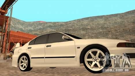 Mitsubishi Galant VR-4 (2JZ-GTE) para GTA San Andreas vista traseira