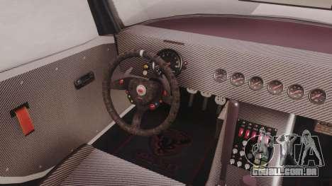GTA 5 Bravado Banshee 900R Carbon para GTA San Andreas vista traseira