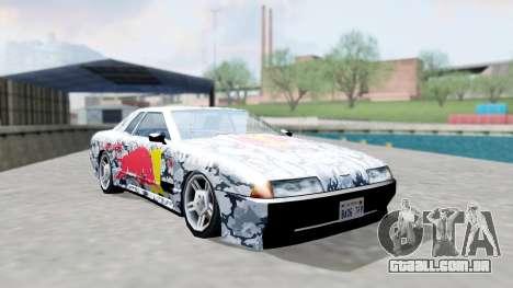 Elegy 4 Drift Drivers V2.0 para GTA San Andreas vista traseira
