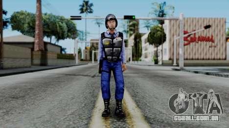 Barney Calhoun from Half Life Blue Shift para GTA San Andreas segunda tela