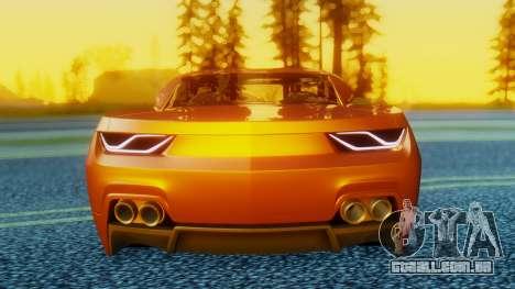 Chevrolet Camaro DOSH Tuning v2 para GTA San Andreas vista direita