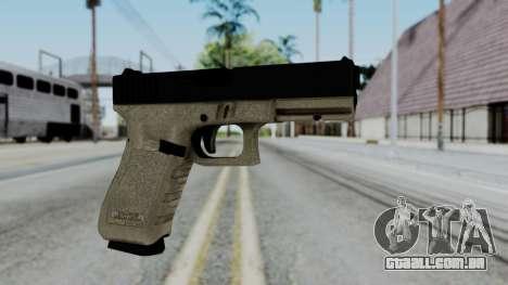 Glock 18 Sand Frame para GTA San Andreas