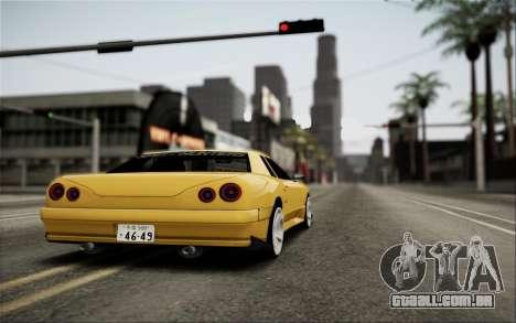 Elegy Speedhunters para GTA San Andreas vista interior