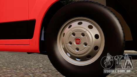 Fiat Ducato SMURD para GTA San Andreas vista direita