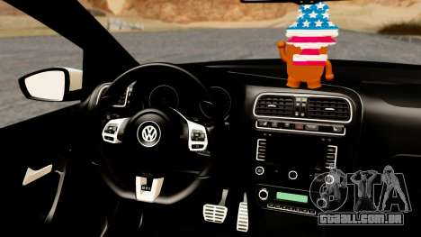 Volkswagen Polo GTI para GTA San Andreas vista direita