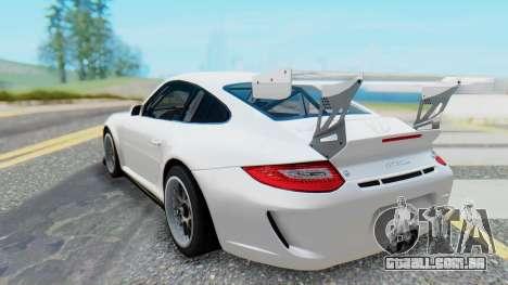 Porsche 911 GT3 Cup para GTA San Andreas traseira esquerda vista
