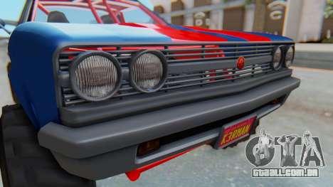 GTA 5 Cheval Picador BAJA Truck para GTA San Andreas vista traseira