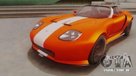 GTA 5 Bravado Banshee 900R para GTA San Andreas vista direita