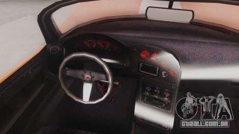 GTA 5 Bravado Banshee 900R para GTA San Andreas vista traseira