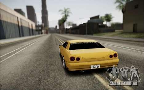 Elegy Speedhunters para GTA San Andreas esquerda vista