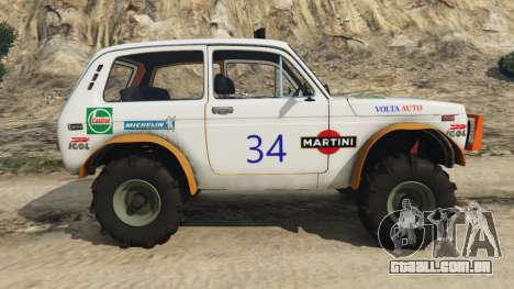 GTA 5 VAZ-2121 [off-road] vista lateral esquerda