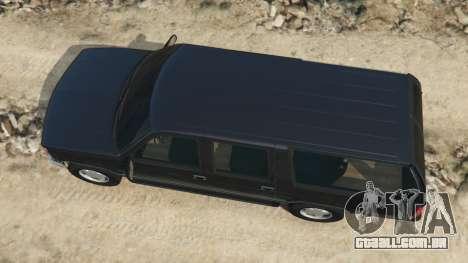 GTA 5 Chevrolet Suburban GMT400 voltar vista