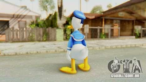 Kingdom Hearts 2 Donald Duck v1 para GTA San Andreas terceira tela