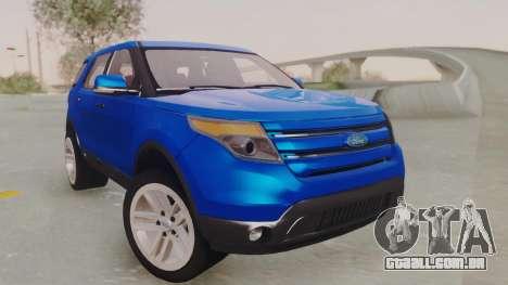 Ford Explorer para GTA San Andreas vista direita