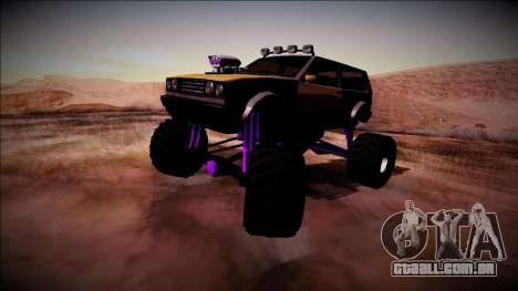 Club Monster Truck para GTA San Andreas vista direita