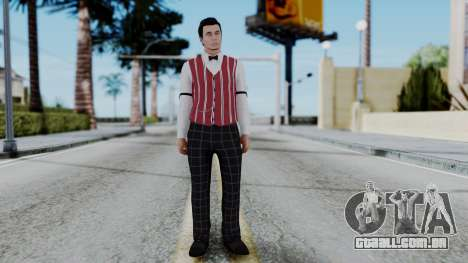 Be My Valentine DLC Male Skin para GTA San Andreas segunda tela