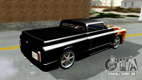 Blade New PJ para GTA San Andreas vista direita