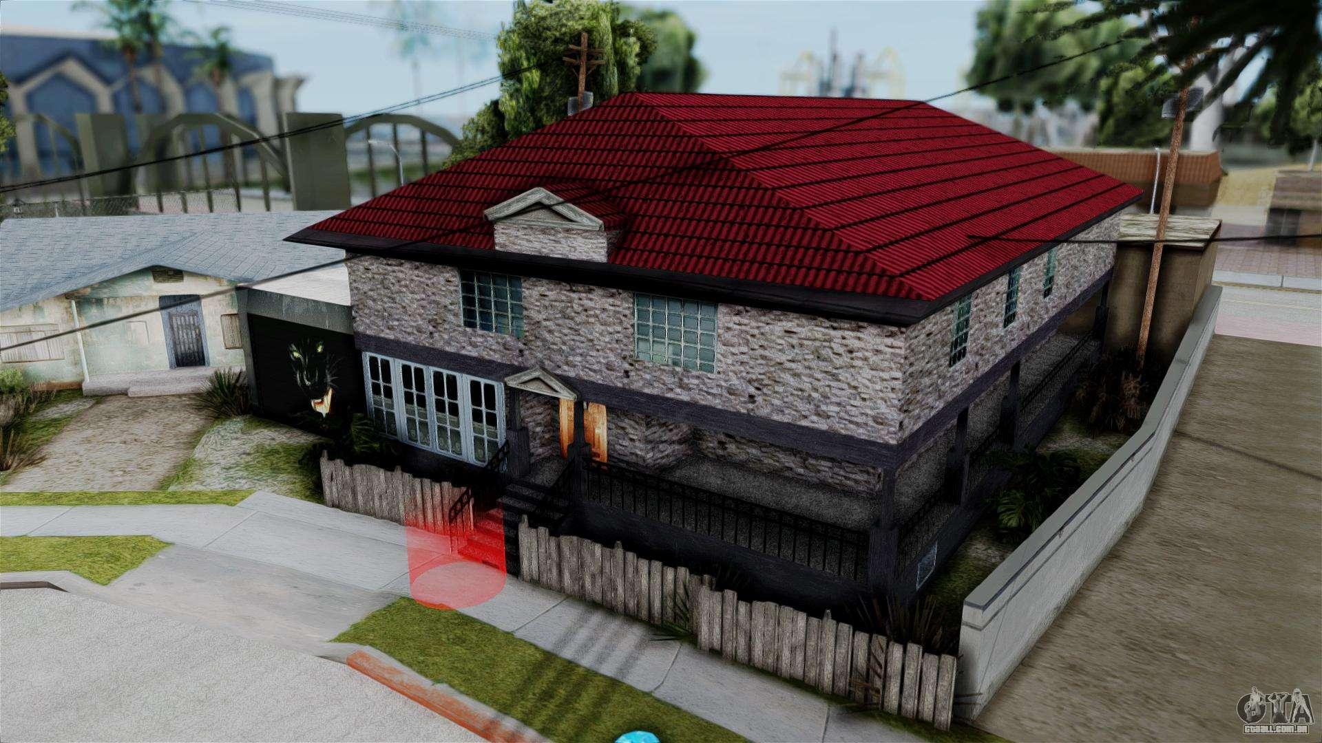 Ls johnson casa v2 0 para gta san andreas for Casa moderna gta sa