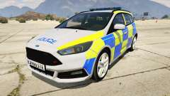 2015 Police Ford Focus ST Estate para GTA 5