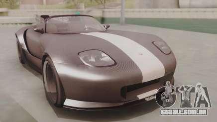 GTA 5 Bravado Banshee 900R Carbon para GTA San Andreas