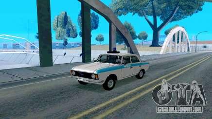 Moskvitch 412 Polícia para GTA San Andreas